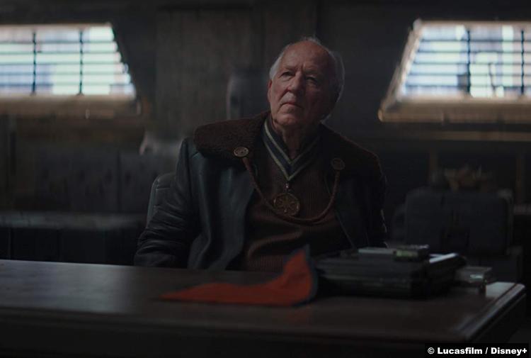 Mandalorian S01e01 Werner Herzog Client