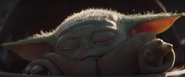 Mandalorian S01e02 Baby Yoda