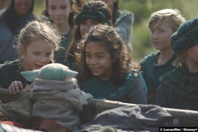 Mandalorian S01e04 Baby Yoda Kids