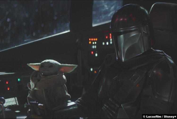Mandalorian S01e04 Pedro Pascal Baby Yoda