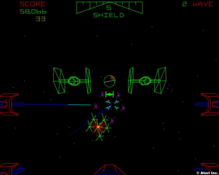 Star Wars 1983 Arcade Game Atari