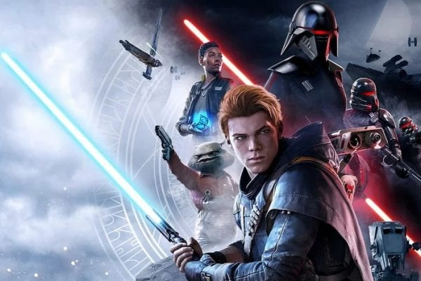 Star Wars Jedi Fallen Order Cover Art