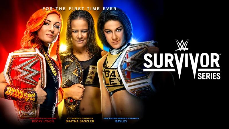 Survivor Series 2019 Poster 1