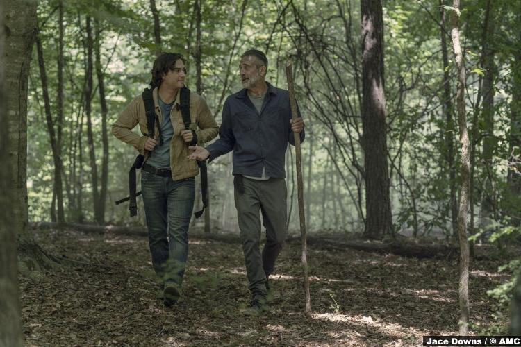 Walking Dead S10e05 Jeffrey Dean Morgan Negan Blaine Kern Brandon 2