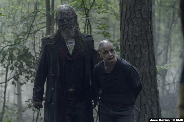Walking Dead S10e05 Samantha Morton Alpha Ryan Hurst Beta