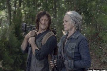 Walking Dead S10e06 Carol Peletier Melissa Mcbride Daryl Norman Reedus 2