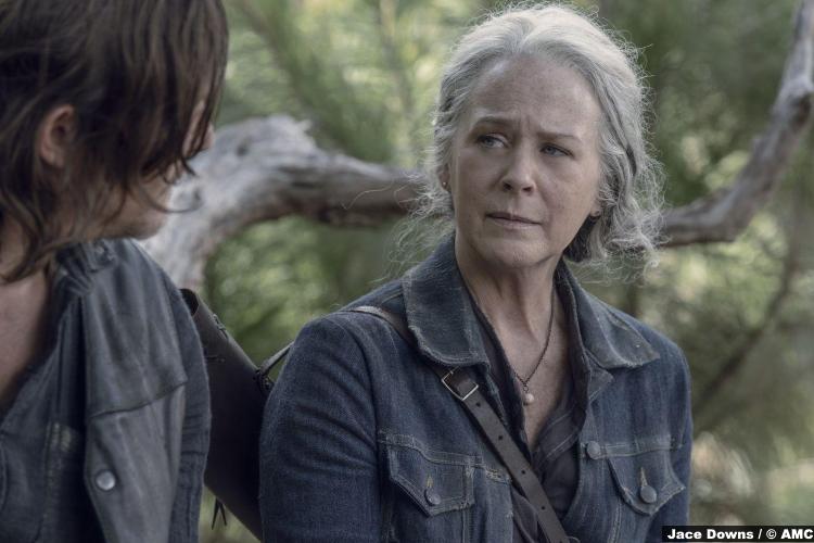 Walking Dead S10e06 Carol Peletier Melissa Mcbride Daryl Norman Reedus