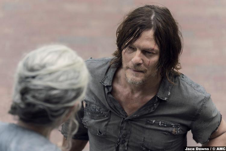 Walking Dead S10e07 Carol Peletier Melissa Mcbride Daryl Norman Reedus