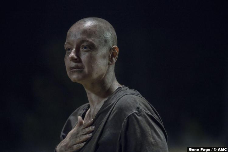 Walking Dead S10e08 Samantha Morton Alpha