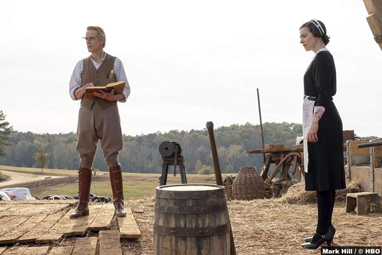 Watchmen S01e04 Jeremy Irons Adrian Veidt Ozymandias Sara Vickers Maid