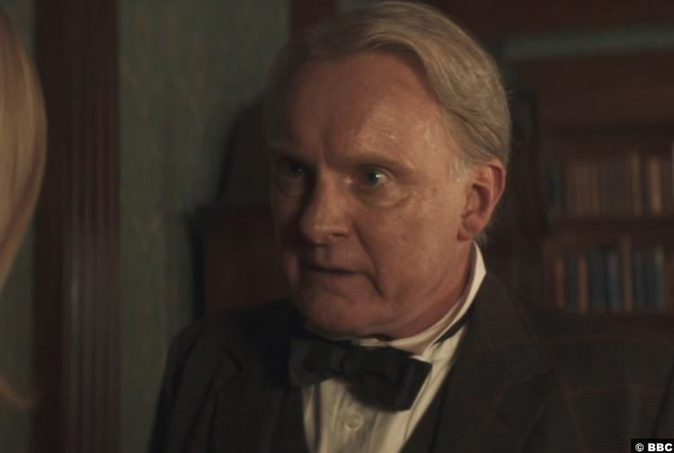 Doctor Who S12e04 Robert Glenister Thomas Edison
