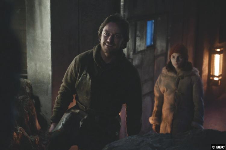 His Dark Materials S01e07 Dafne Keen Lyra Belacqua James Mcavoy Lord Asriel 2