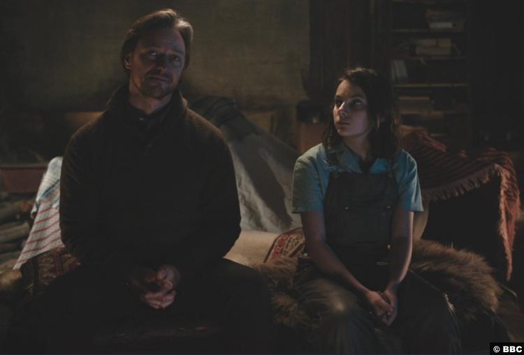His Dark Materials S01e08 James Mcavoy Lord Asriel Dafne Keen Lyra Silvertongue