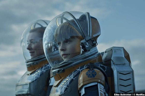 Lost Space S02 Molly Parker Maxwell Jenkins Maureen Will Robinson