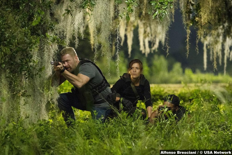 Purge S02e09 Max Martini Ryan Grant Chelle Ramos Sara Williams