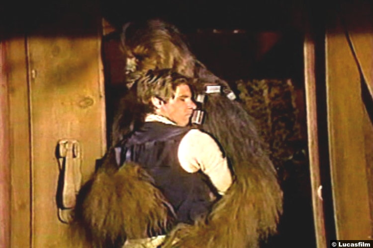 Star Wars Christmas Special 1978 Harrison Ford Han Solo Chewbacca