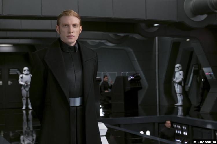 Star Wars Last Jedi Domhnall Gleeson General Hux