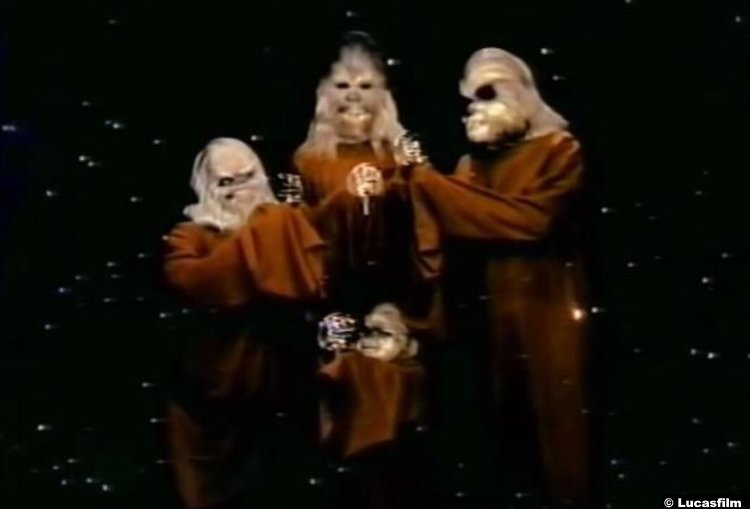 Starwars Christmas Special 1978 Chewbacca