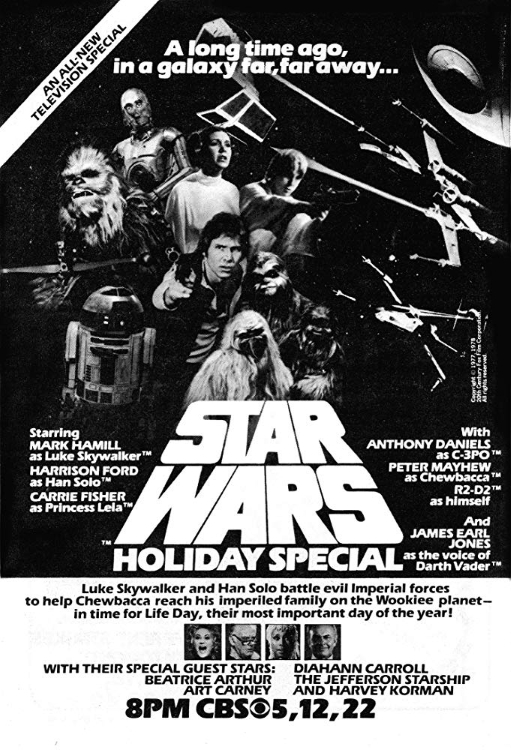 Starwars Christmas Special 1978 Poster