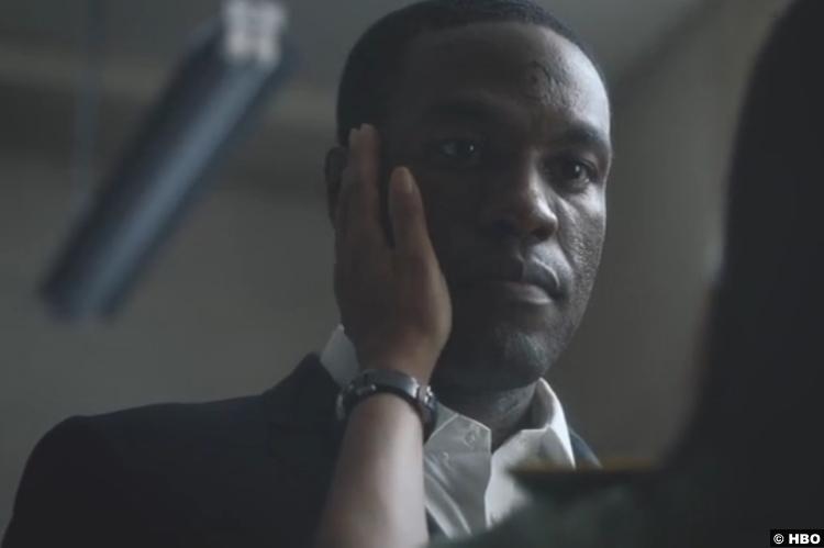 Watchmen S01e08 Yahya Abdul Mateen Cal Abar Doctor Manhattan