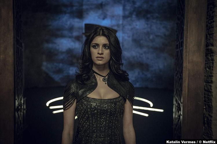 Witcher S01 Anya Chalotra Yennefer