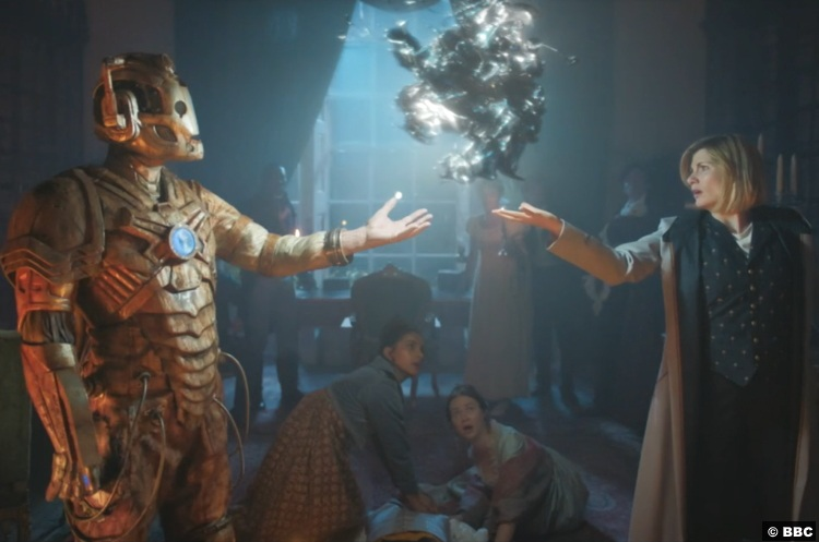 Doctor Who S12e08 Jodie Whittaker Cyberman 2