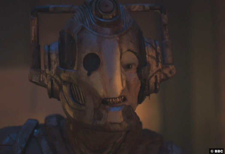 Doctor Who S12e08 Lone Cyberman 2