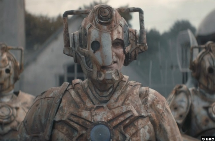 Doctor Who S12e09 Ashad Cyberman 2