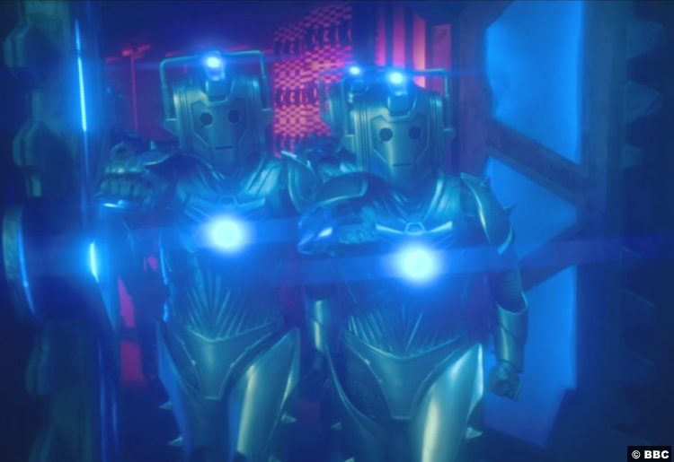 Doctor Who S12e09 Cybermen 2