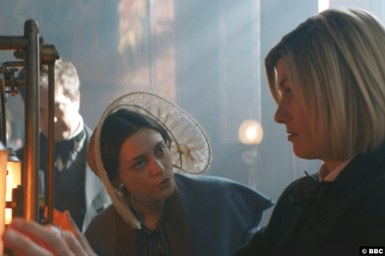 Doctor Whos12e02 Sylvie Briggs Ada Lovelace Jodie Whittaker