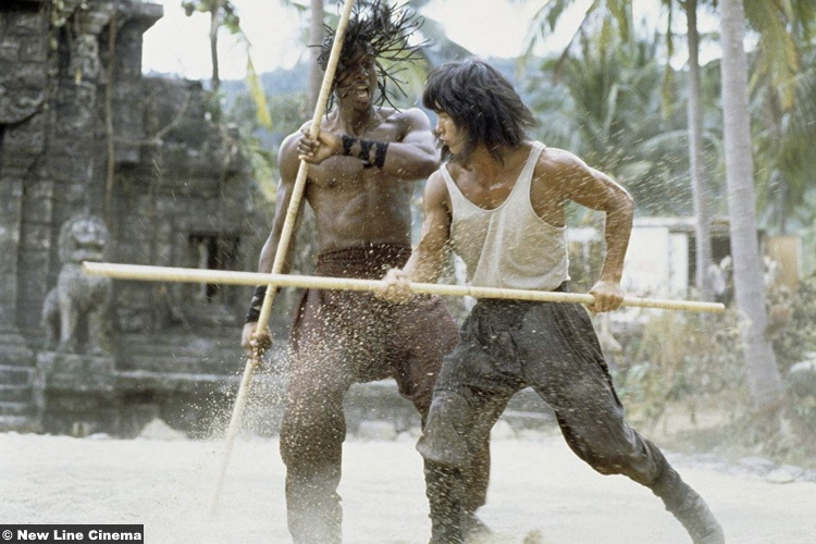 Mortal Kombat 1995 Hakim Alston Robin Shou