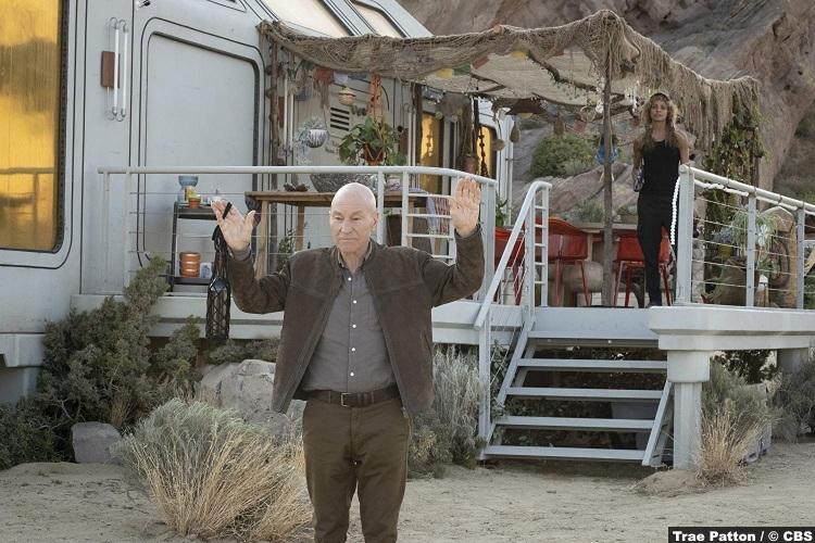 Picard S01 Patrick Stewart Jean Luc Michelle Hurd Raffi 2