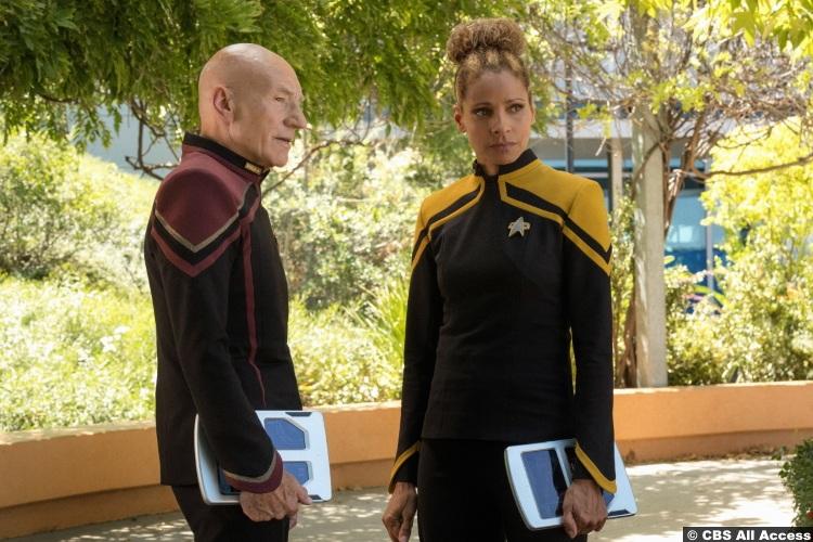 Picard S01e03 Patrick Stewart Jean Luc Michelle Hurd Raffi