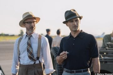 Project Blue Book S02e01 Michael Malarkey Captain Michael Quinn Aiden Gillen Dr Allen Hynek 2