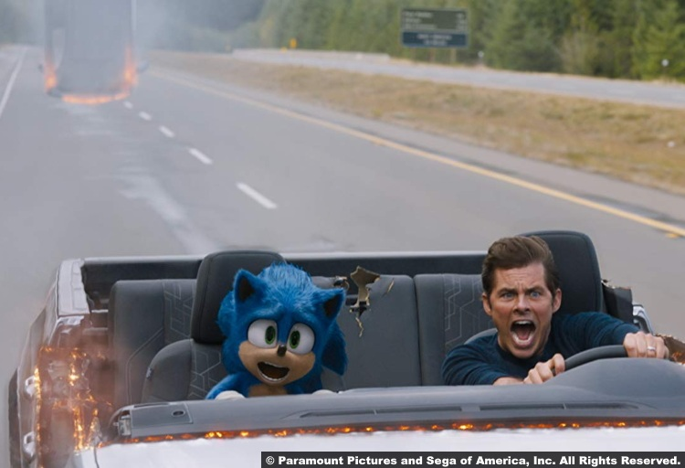 Sonic Hedgehog James Marsden Tom Wachowski