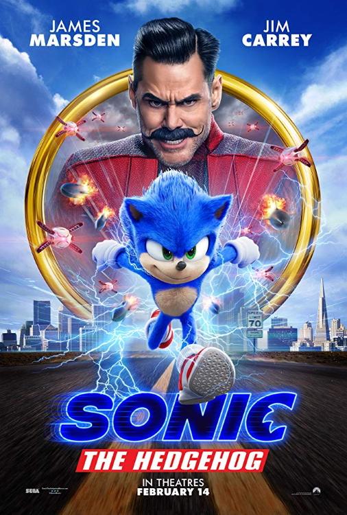 Sonic Hedgehog Poster 2