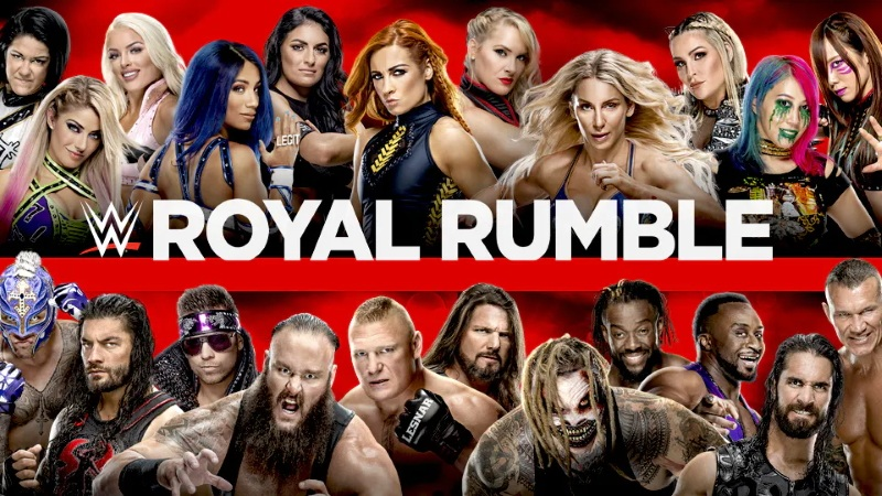 Wwe Royal Rumble 2020 Poster