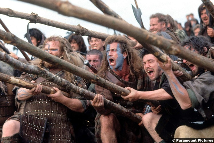 Braveheart Mel Gibson 3