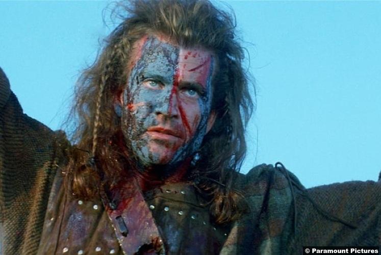 Braveheart Mel Gibson 5