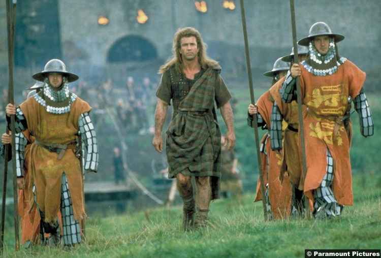 Braveheart Mel Gibson 6