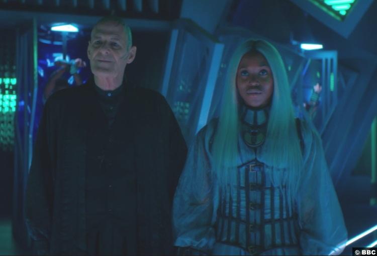 Doctor Who S12e07 Ian Gelder Zellin Clare Hope Ashitey Rakaya
