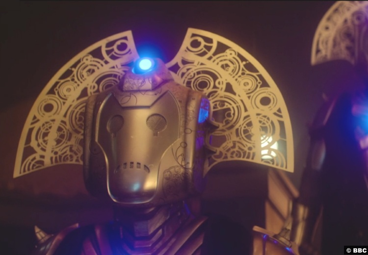 Doctor Who S12e10 Timelord Cybermen