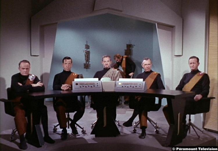 Star Trek S01e03 Dick Cherney Monty Ogrady David Opatoshu Al Roberts 2