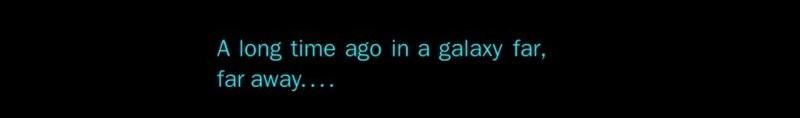 Star Wars Opener