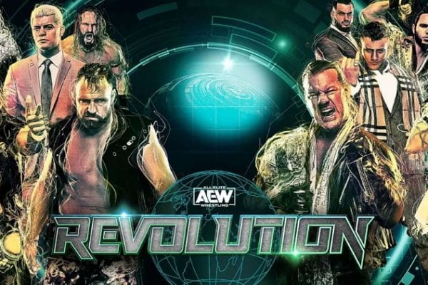 Aew Revolution Poster 2020 2