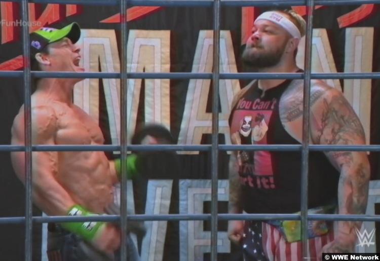 Bray Wyatt John Cena Wrestlemania 36 3