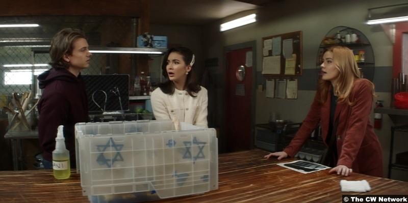 Nancy Drew S01e16 Alex Saxon Ace Maddison Jaizani Bess Kennedy Mcmann