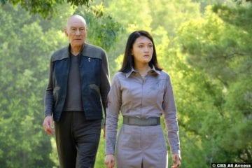 Picard S01e07 Patrick Stewart Jean Luc Isa Briones Soji