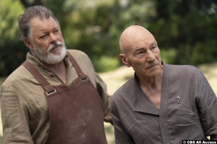 Picard S01e07 Patrick Stewart Jean Luc Jonathan Frakes William Riker