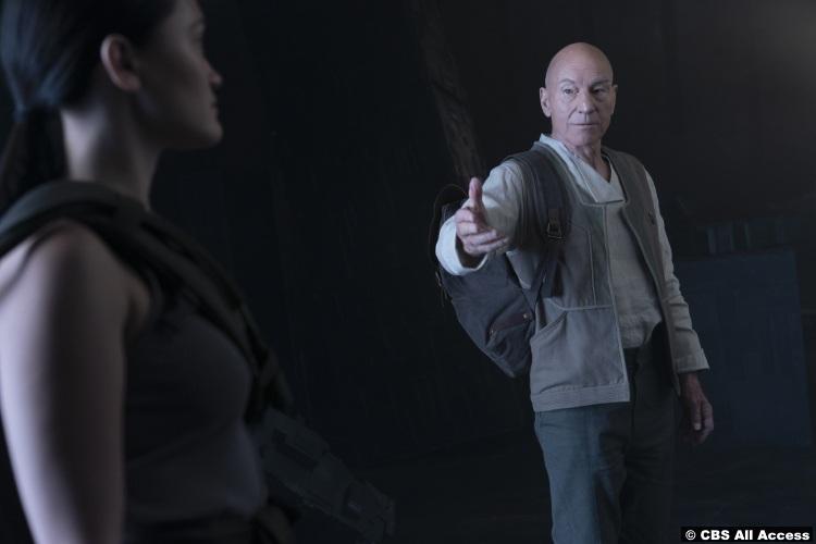 Picard S01e09 Patrick Stewart Jean Luc Isa Briones Soji 2